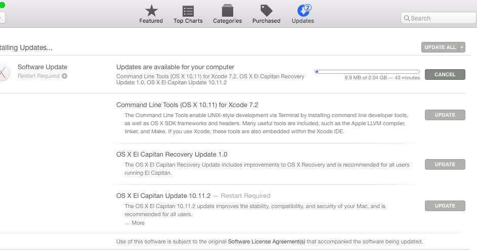 OS X El Capitan Update 10 11 2 - Verge Talks