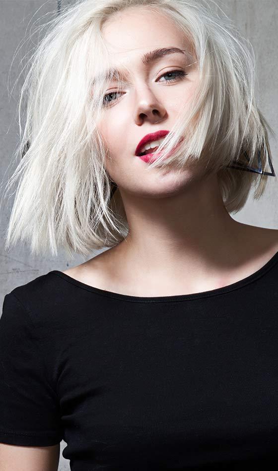 fryzury damskie krótkie 2017 dla sexy dziewczyn