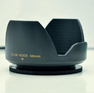 Jual HOOD Lensa 58mm