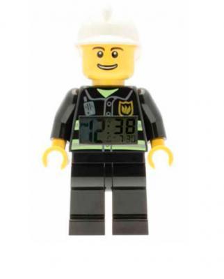 Reloj Despertador Bombero LEGO