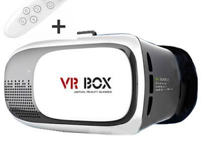 VR Box 2 với thấu kính trong suốt
