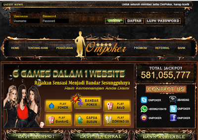 Ompoker.info Agen Poker Terpercaya Di Indonesia