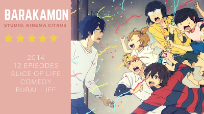 click here to read the review of the anime barakamon