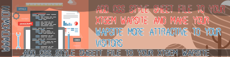 CSS Style Sheet to Your Xtgem Wapsite