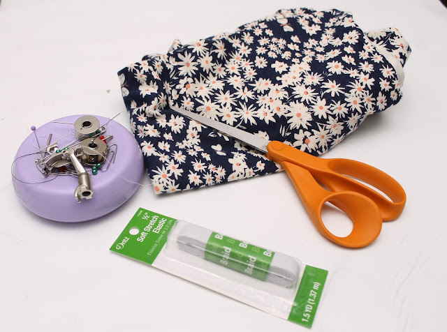 Sewing supplies and fabric