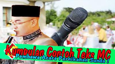 (5) Kumpulan Contoh Teks Pembawa Acara MC Pernikahan Bahasa Sunda!