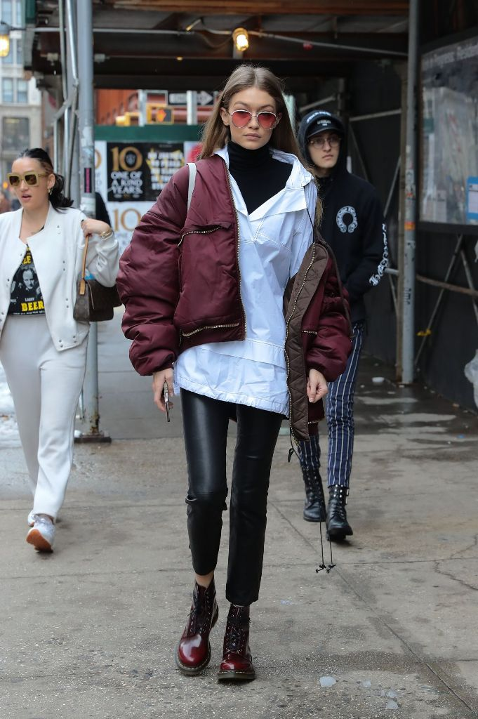 Gigi Hadid Casual Style Out in New York City