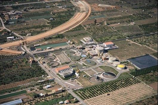 La Comunitat Valenciana depura 431 hectómetros cúbicos de agua residual en 2015