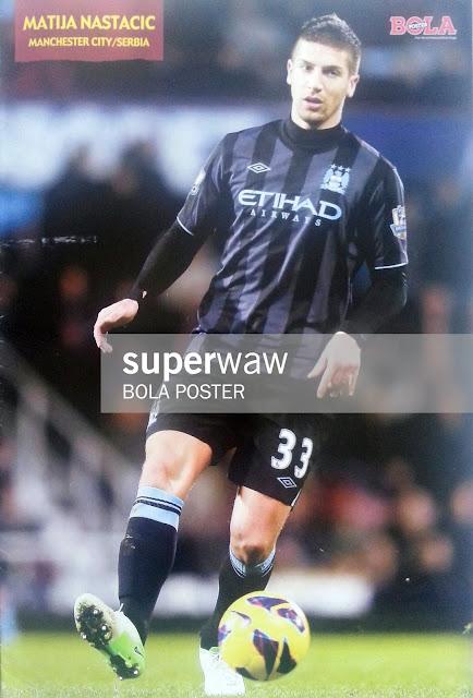 Matija Nastacic Manchester City 2012