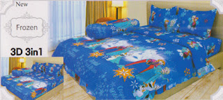 Sprei Lady Rose Frozen