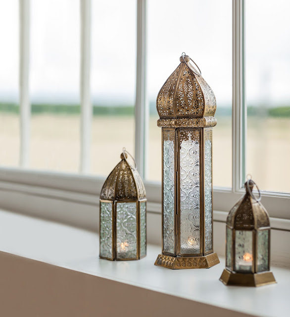 Mother's Day gift - Ornate Moroccan Lanterns