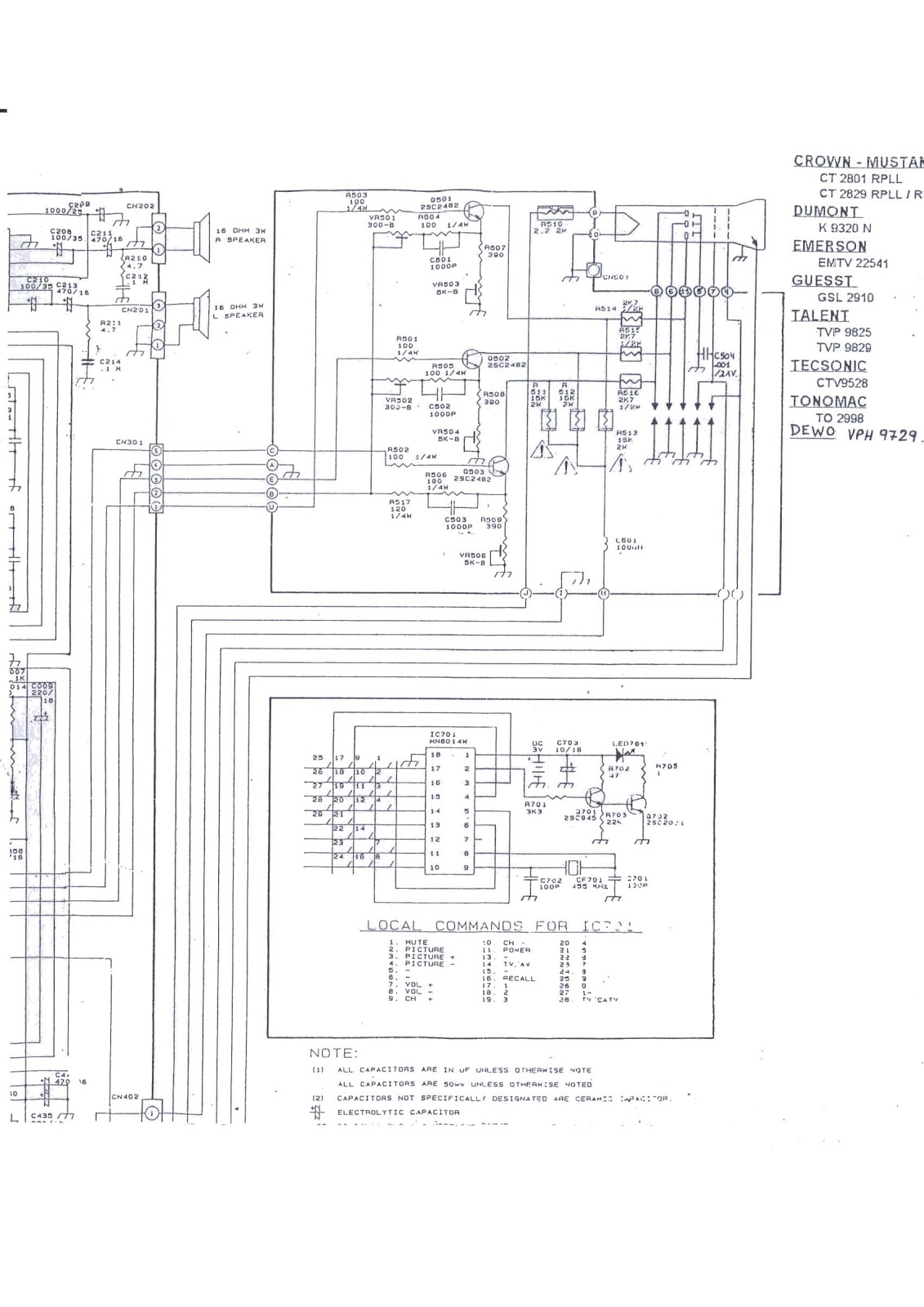 Ford 4630 Tractor Wiring Diagram Sel Circuit 7710 3000 Approx Free Guide Manual Expert Schematics On Parts