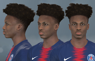 PES 2017 Faces Timothy Weah by WER