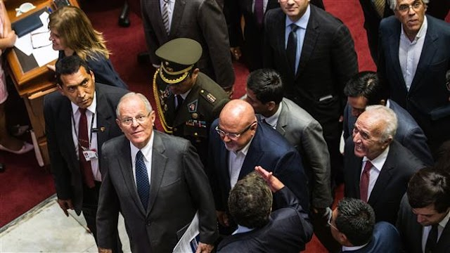Peruvian President Pedro Pablo Kuczynski survives impeachment bid
