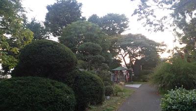 東大和市の慶性院 綺麗な庭