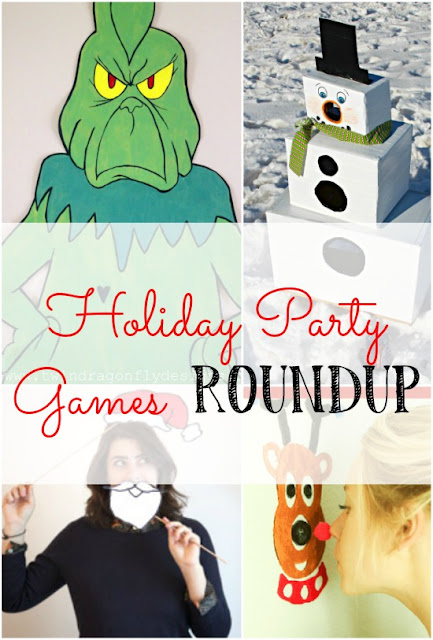 A roundup of fun holiday party games to play!