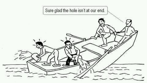 Chapel Hill Snippets: Who's in Your Boat? Working Together