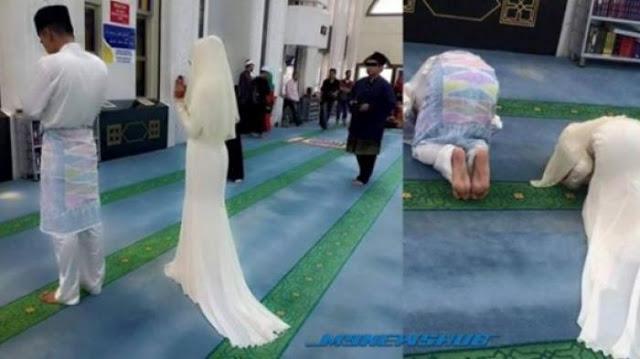 Suami Bayar Mas Kawin, Pria Lain Yang Menikmati Lekuk Tubuhnya