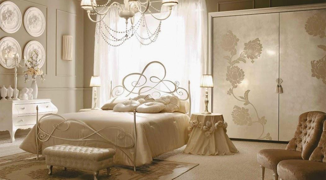 habitación estilo parisino