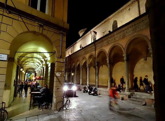 Bologna, Italy: The Night Life Scene at Via Zamboni in the University District