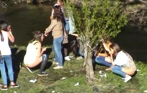 Lesbian Teen Blondes Caught 15