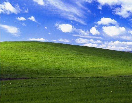 윈도우XP 배경화면 촬영장소
