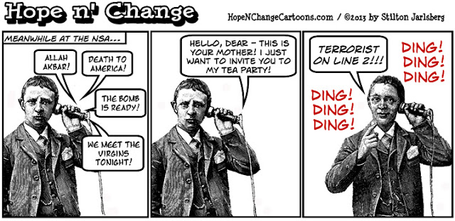 obama, obama jokes, nsa, prism, spying, scandal, tea party, conservative, hope n' change, stilton jarlsberg, hope and change,