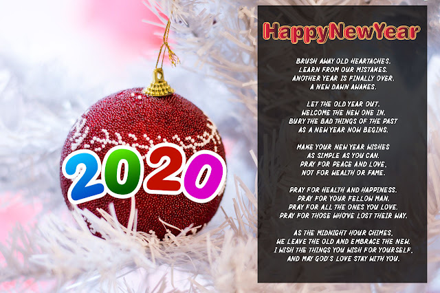 Happy New Year 2020 Poems, Quotes, Wishes, Greetings, Messages