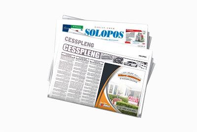 pasang iklan rumah disewakan di koran Solopos