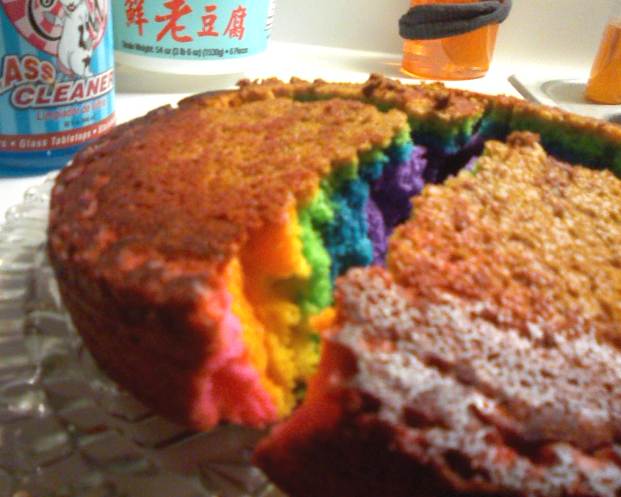 I Just Want To Bake A Cake Filled With Rainbows