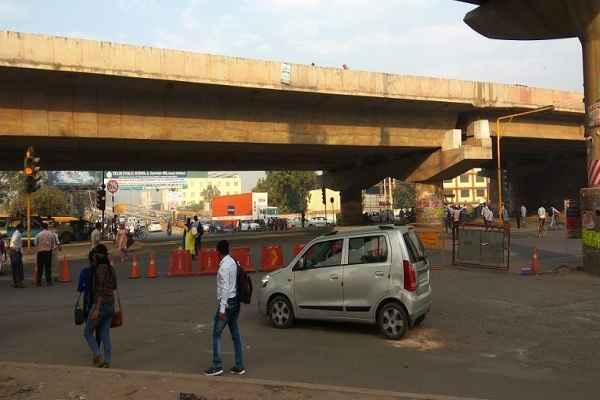 traffic-divert-on-badkhal-flyover-sector-28-sabji-mandi-road-news