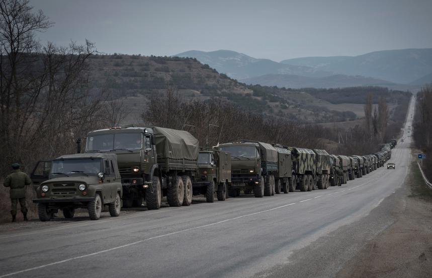 российская окупация Крыма