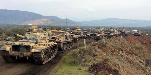 Selangkah lagi Turki perang dengan AS di Suriah