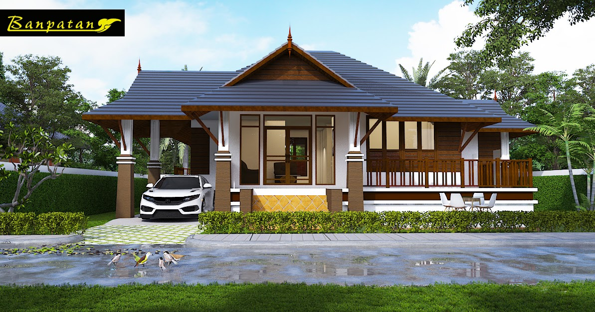 Myhouseplanshop Small Thai Style House Plan Designed To