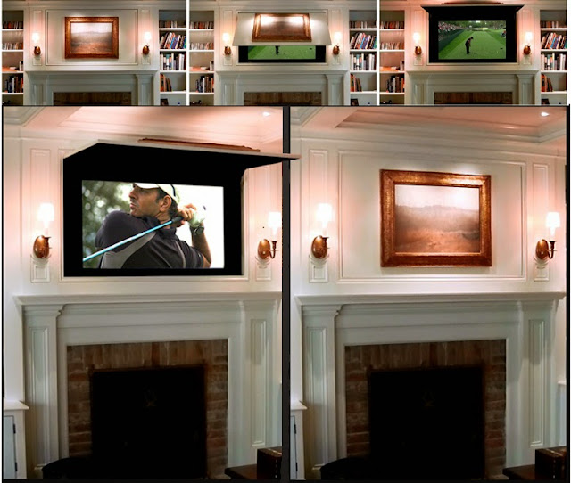 Frame Tv With Art Or Behind Mirror