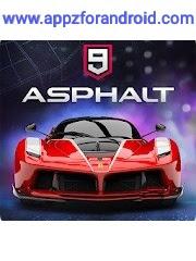 تحميل لعبة asphalt 9 للاندرويد كامله بحجم صغير | تحميل لعبة اسفلت 9 للاندرويد