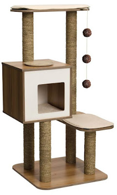 l 39 arbre chat arbre chat vesper le top design pour les gros chats. Black Bedroom Furniture Sets. Home Design Ideas
