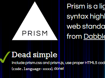 how to add prism syntax highlighter to blogger