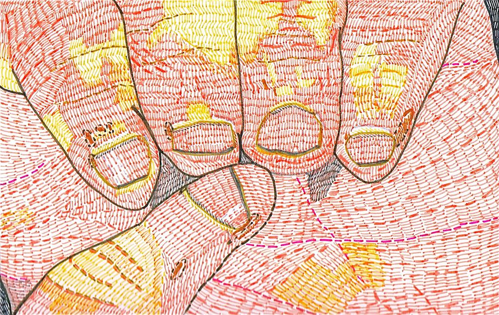 Dibujo de uñas