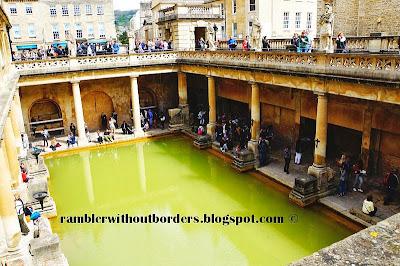 Roman Bath, Bath, Somerset, UK