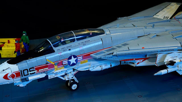 F 14A Tomcat   1 15th Scale made with LEGO