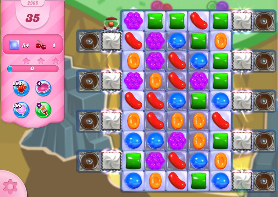 Candy Crush Saga level 2905