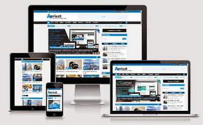 Apriezt - Responsive Blogger Template