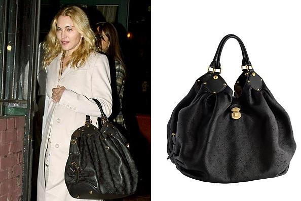 Madonna Wears Louis Vuitton Mahina Handbag 2 795 Available At Onquestyle