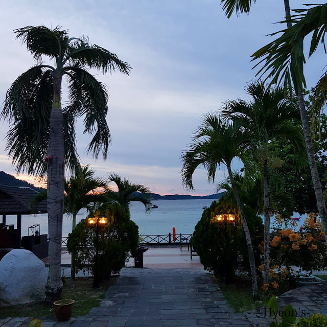 Hyeon Travel Journal; Pulau Perhentian Resort