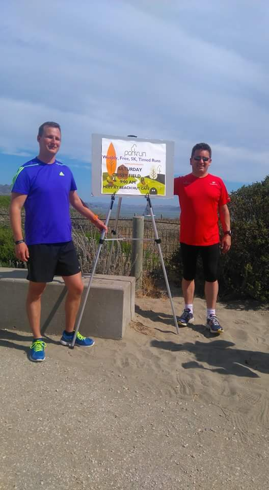 Brits at Crissy Field 5k Park Run