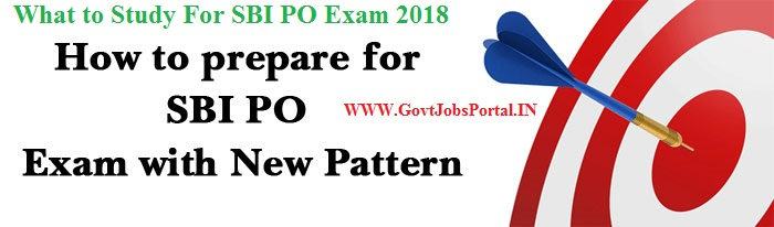 how to prepare for sbi po exam 2018