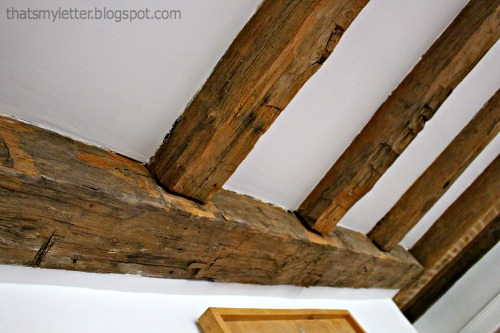 Plastic Wood Beams