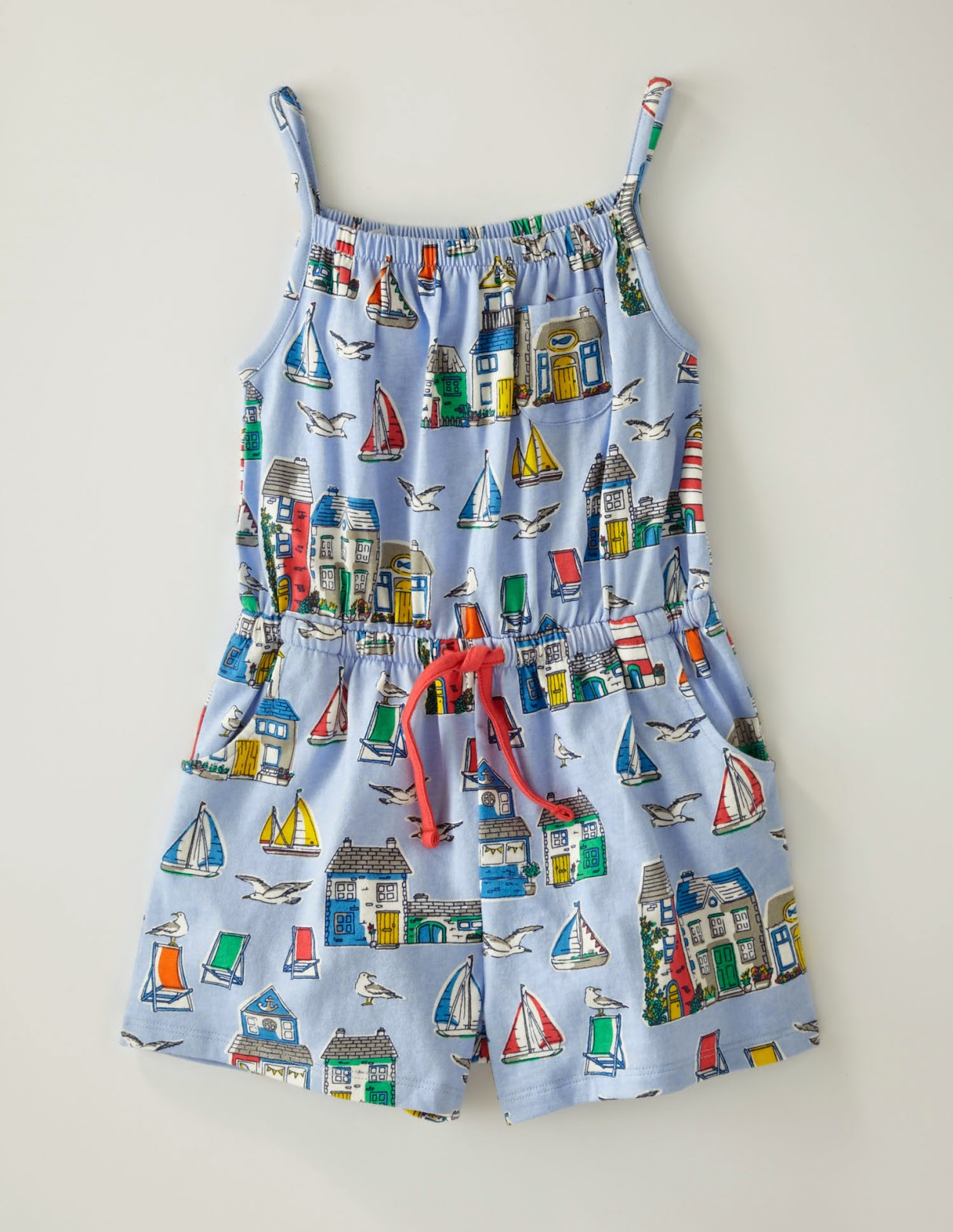 Boden Summer Play Clothes Festivals Camping Sailing Playsuit Culottes