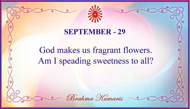 Thought For The Day September 29